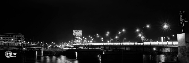 Night Bridges by Erick Van Rijswick