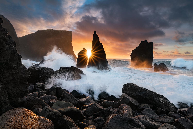 Reykjanes Sunrise by Ari Johannesson