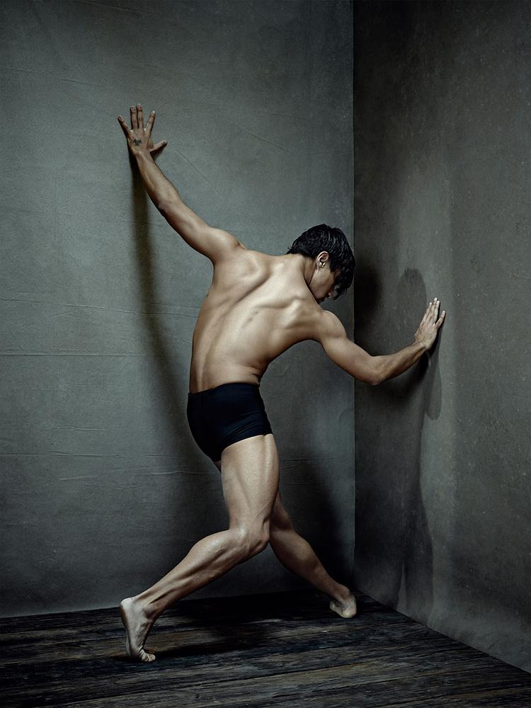 Dancers on Canvas. Andre by Sasha Onyshchenko