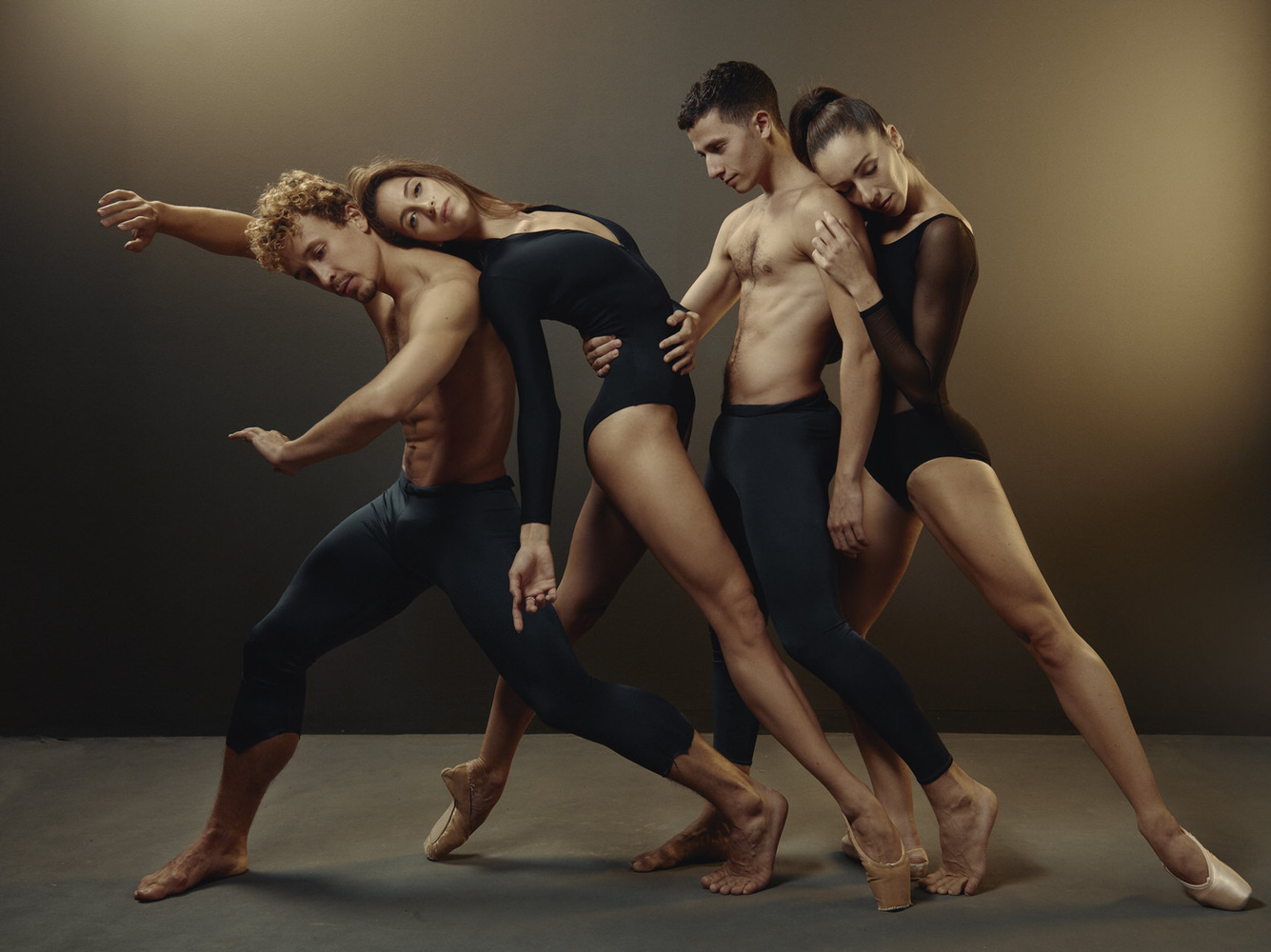 Four Dancers by Sasha Onyshchenko
