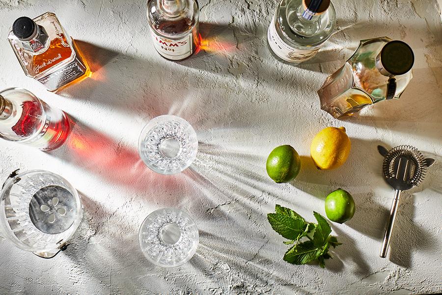 Cocktail Setup by Tony Clark