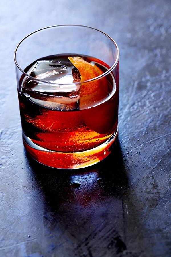 Negroni cocktail by Tony Clark