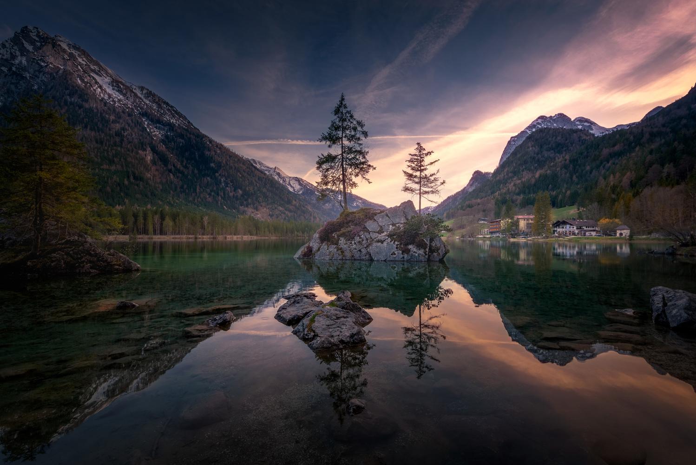 Hintersee at Sunset ! by SANDEEP MATHUR