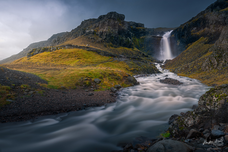 Icelandic Waterfalls by SANDEEP MATHUR