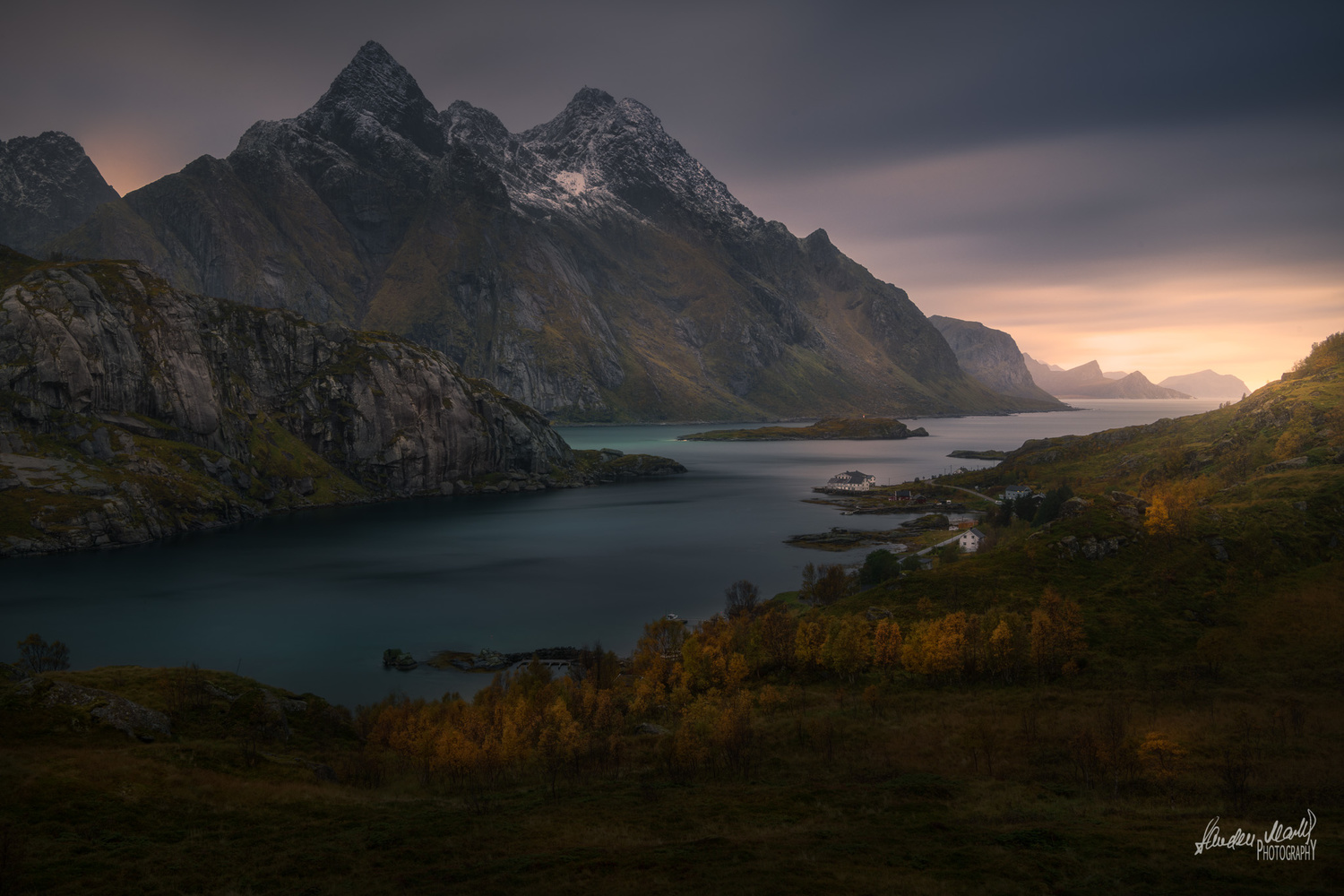 Sunsets in Lofoten by SANDEEP MATHUR