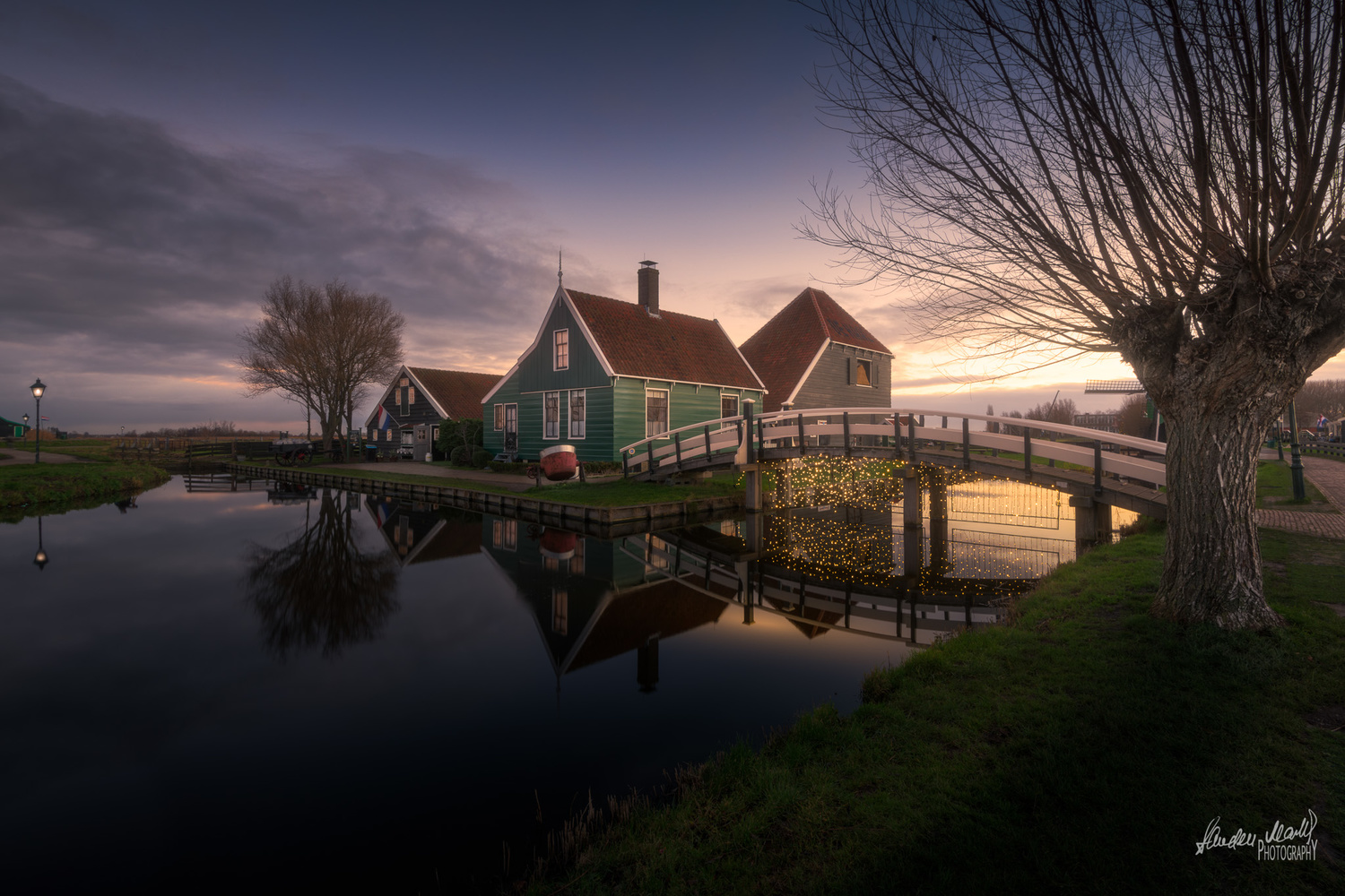 Zaanse Schans at Sunrise ! by SANDEEP MATHUR