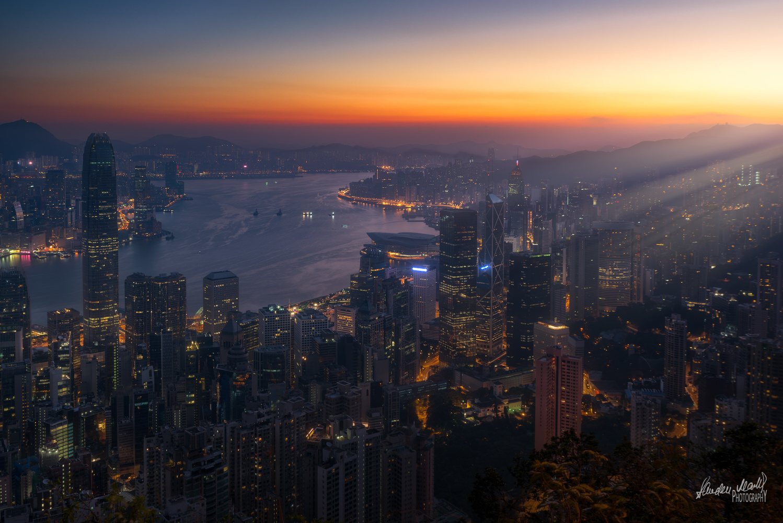 Good Morning Hong Kong ! by SANDEEP MATHUR