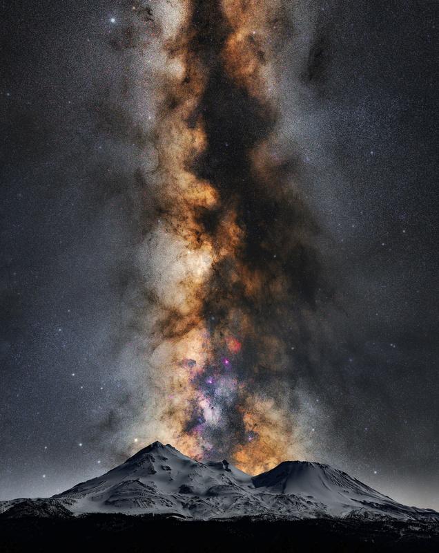 Volcanic milk with a splash of Moon Light. by Sean Pierce