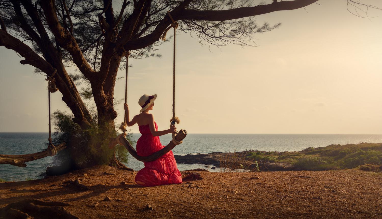 Sunset on the island Samet by Максим Бондаренко