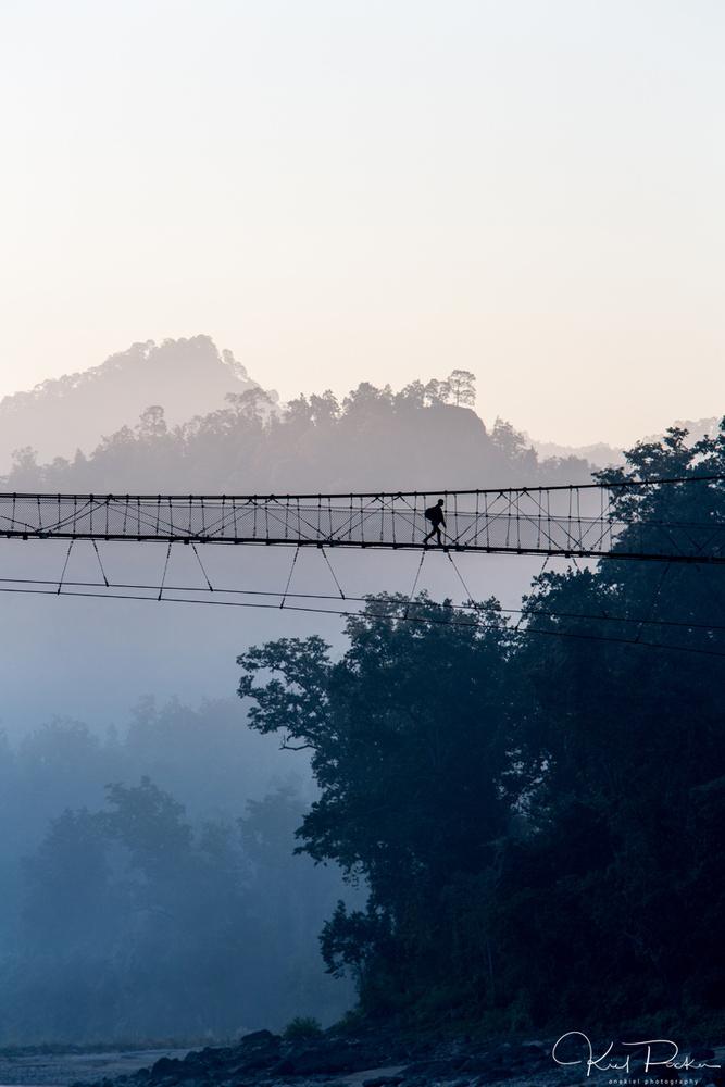 Bridging the Karnali by kiel rucker