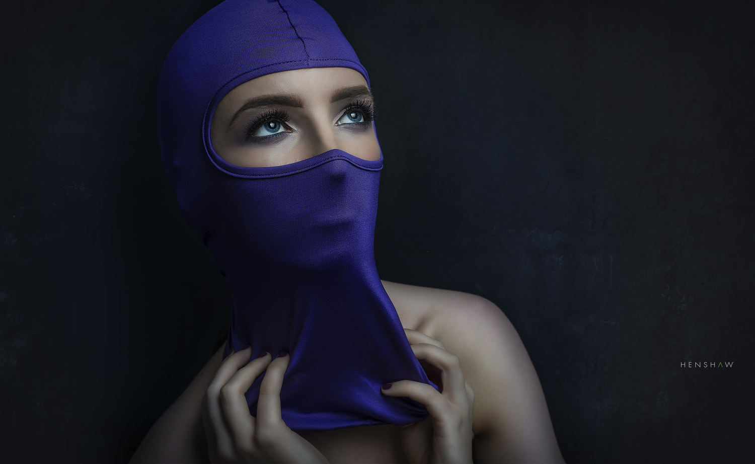 Masked Beauty by Dave Henshaw
