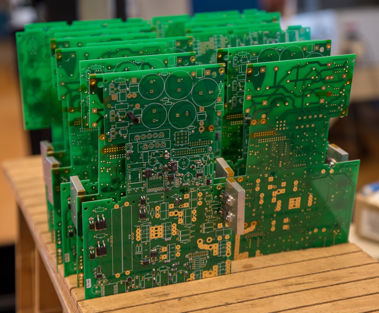 broncolor Printed Circuit Boards ready for assembly by Will Prentice