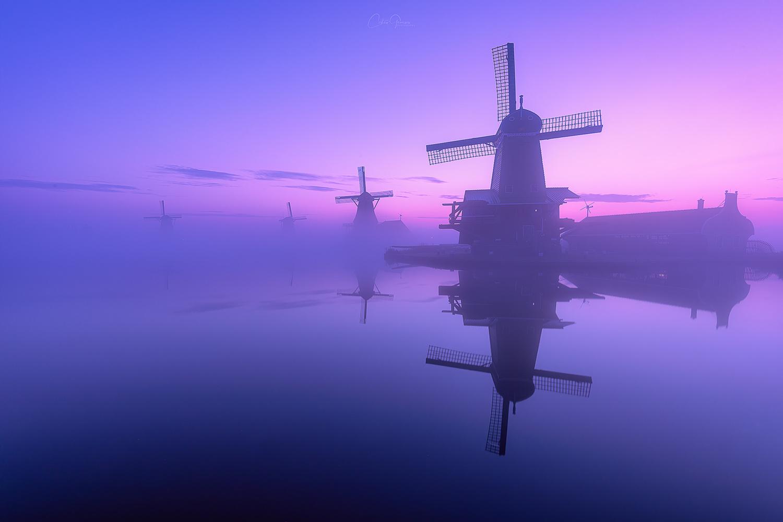 The awakening of the windmills by Costas Ganasos