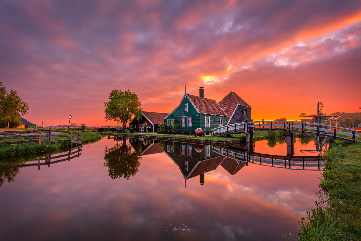Fire is the sky by Costas Ganasos