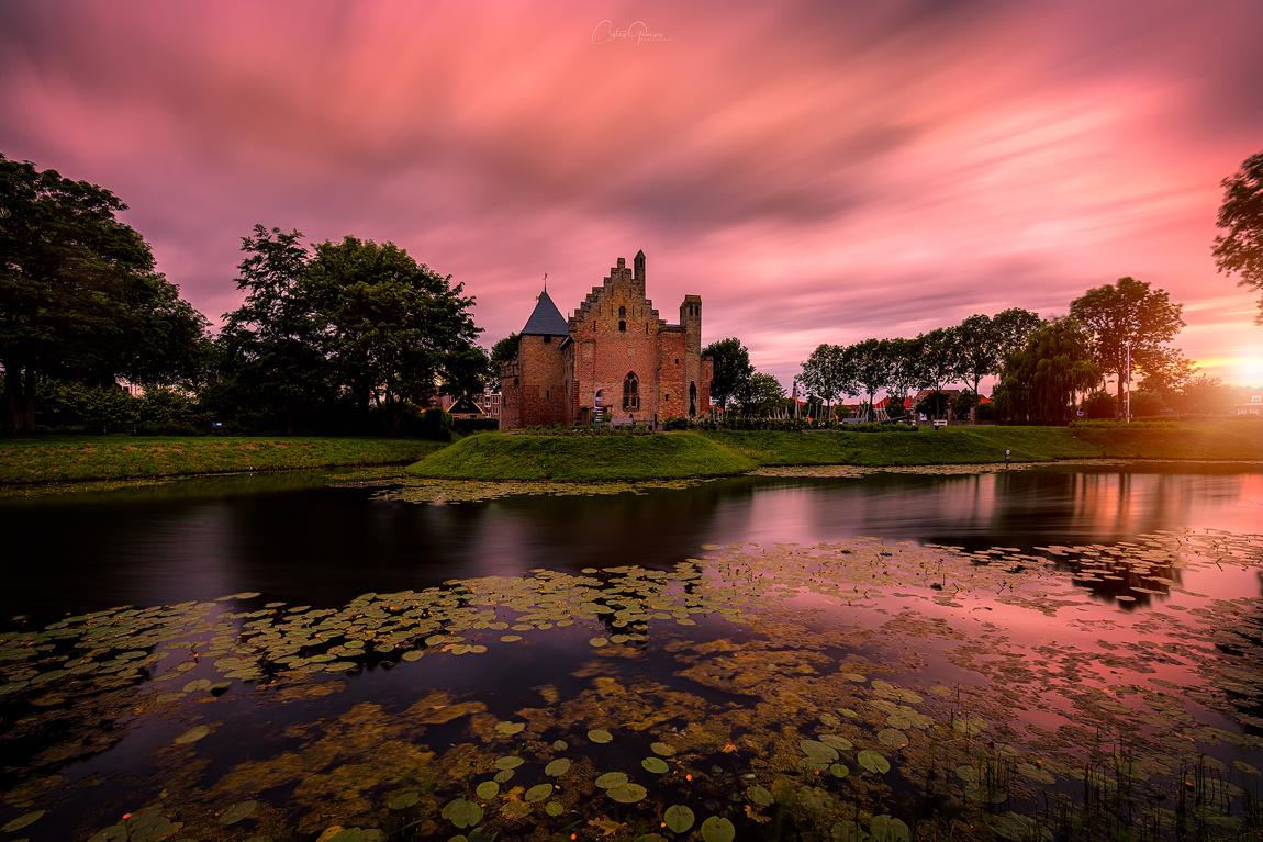 Sunset in Medemblik by Costas Ganasos