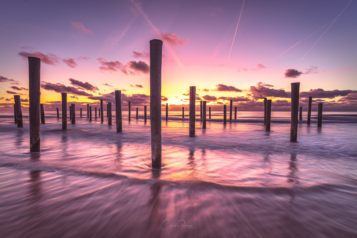 Sunset tranquility by Costas Ganasos