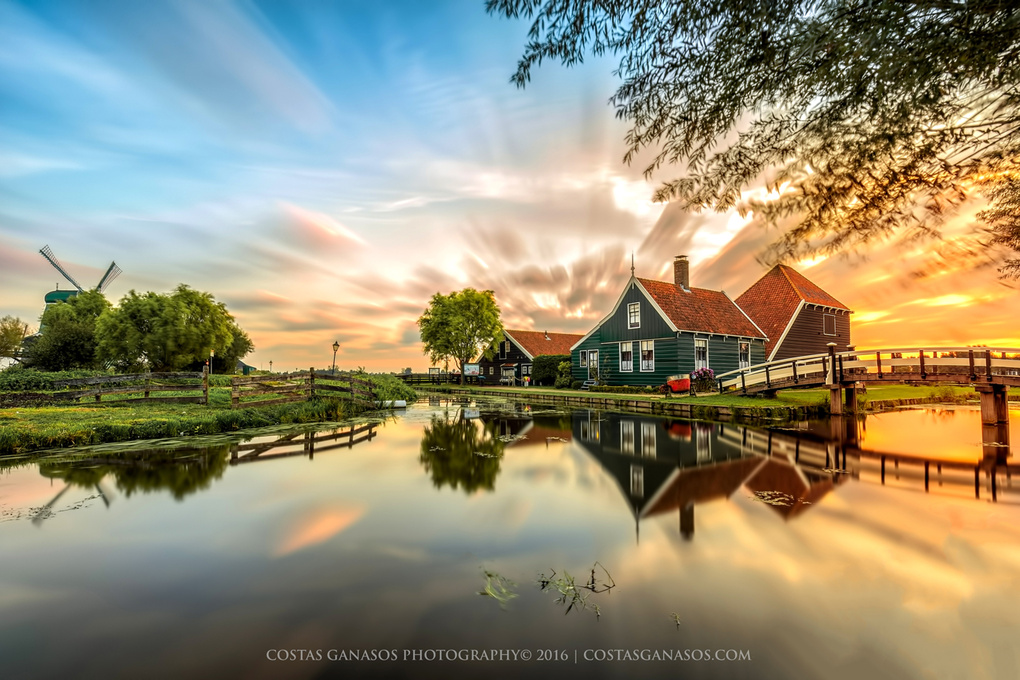 Amazing Zaanse Schans by Costas Ganasos