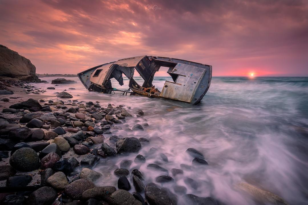 The shipwreck of Kos Island by Costas Ganasos