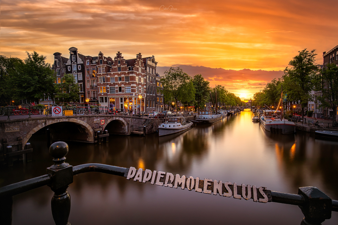 Majestic Amsterdam by Costas Ganasos