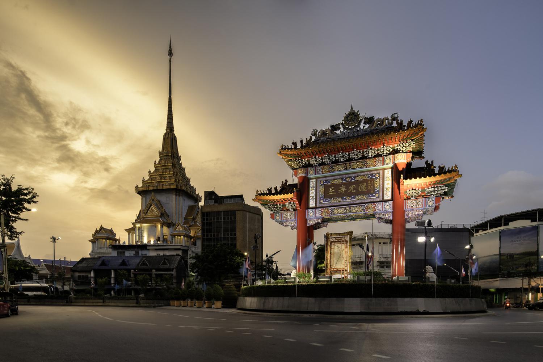 Bangkok - Chinatown Gate by Will Reynolds