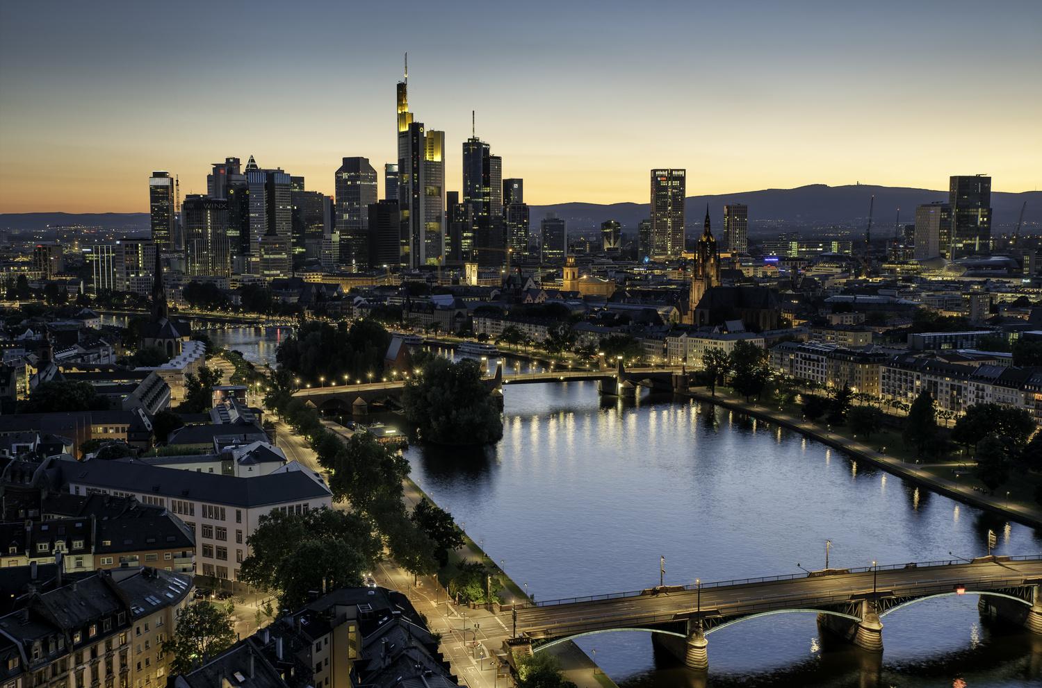 Frankfurt Sunset by Will Reynolds