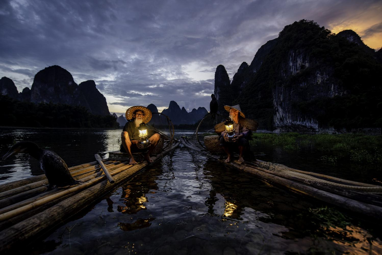 Cormorant Fishermen of China by Will Reynolds
