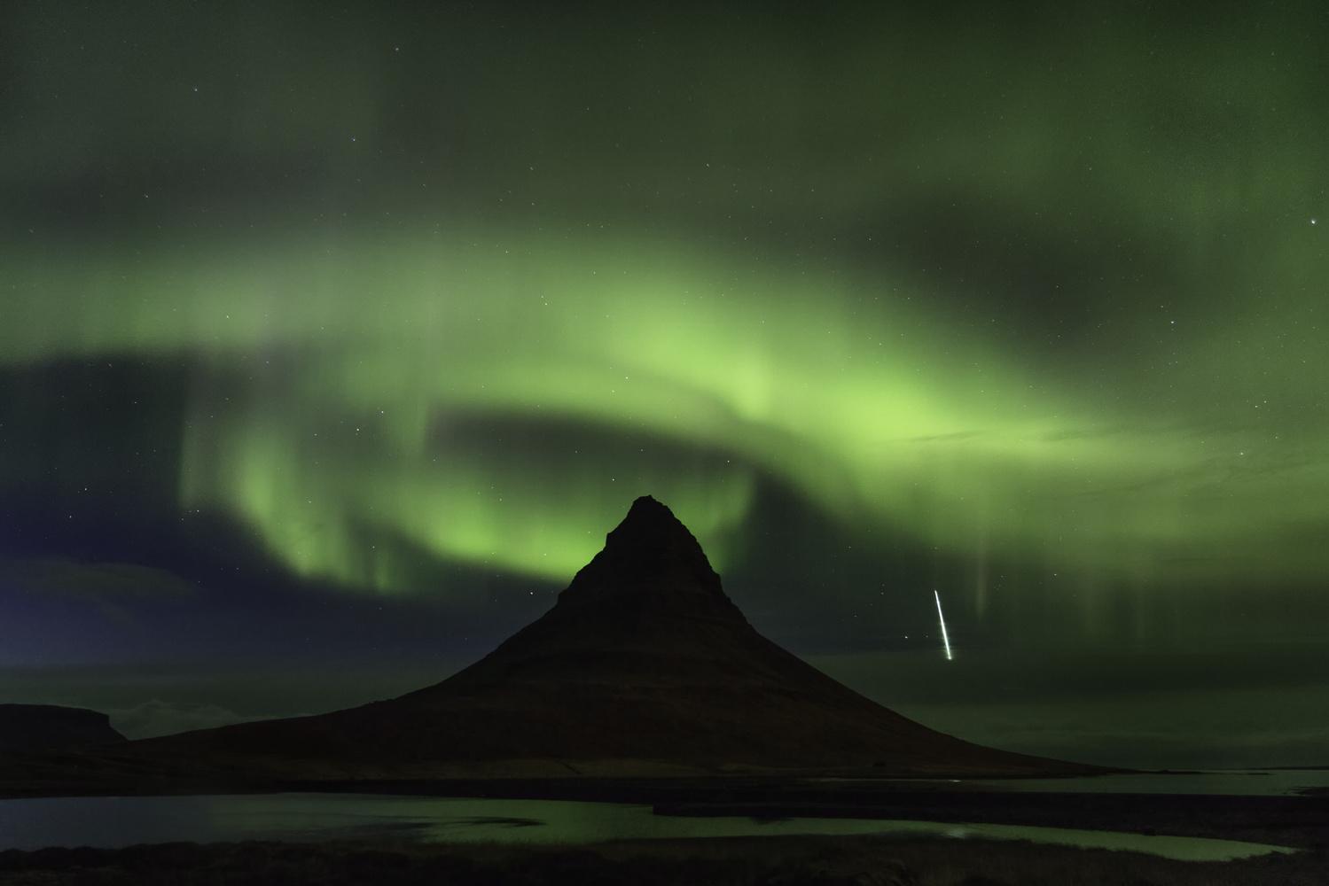 Kirkjufell Aurora by Will Reynolds