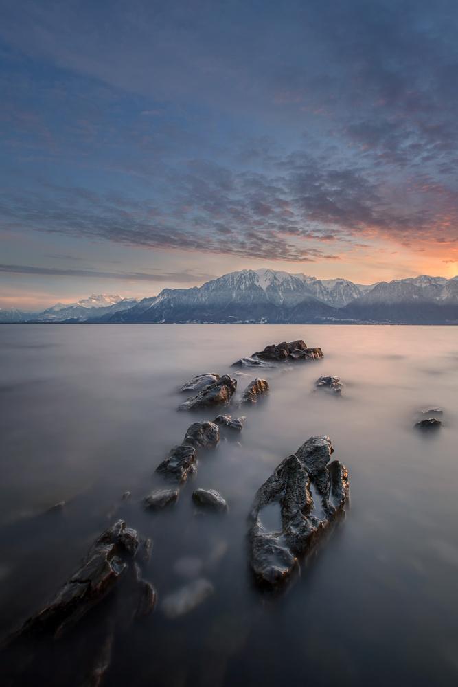 Lake Geneva by Michel Visentin