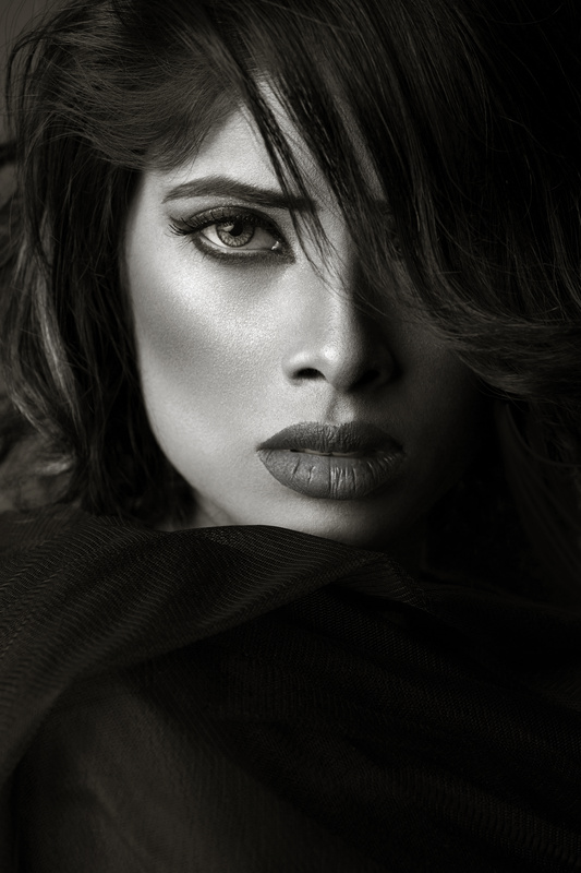 black and white portrait by rehan qureshi