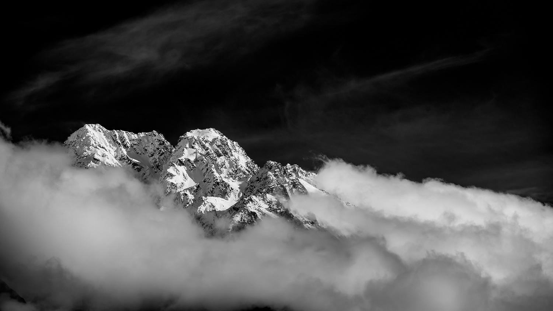 Mountain Peaks by George Varousiadis