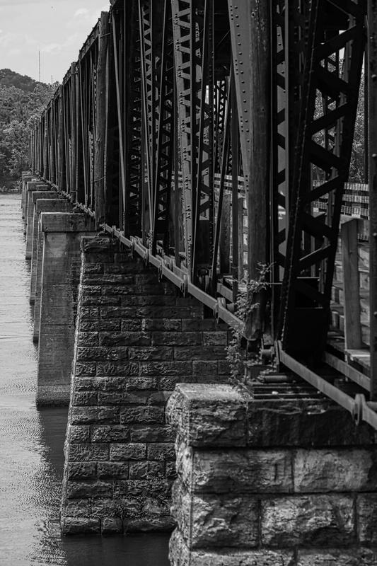 Old Railroad Bridge - Sheffield, AL by Fred Bergman