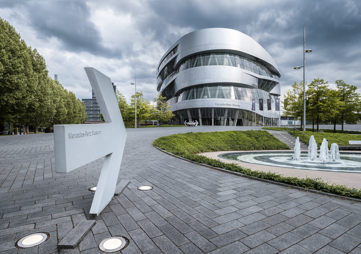 Mercedes Benz Museum | Stuttgart | Germany by Matthias Dengler