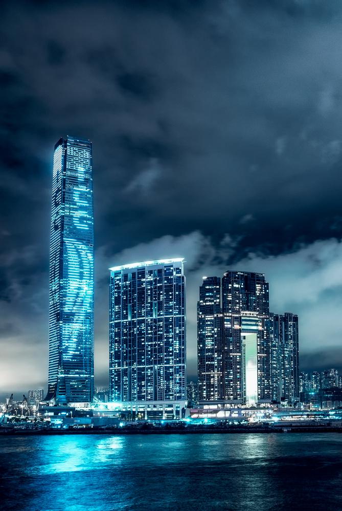 Hong Kong's ICC tower. by Matthias Dengler