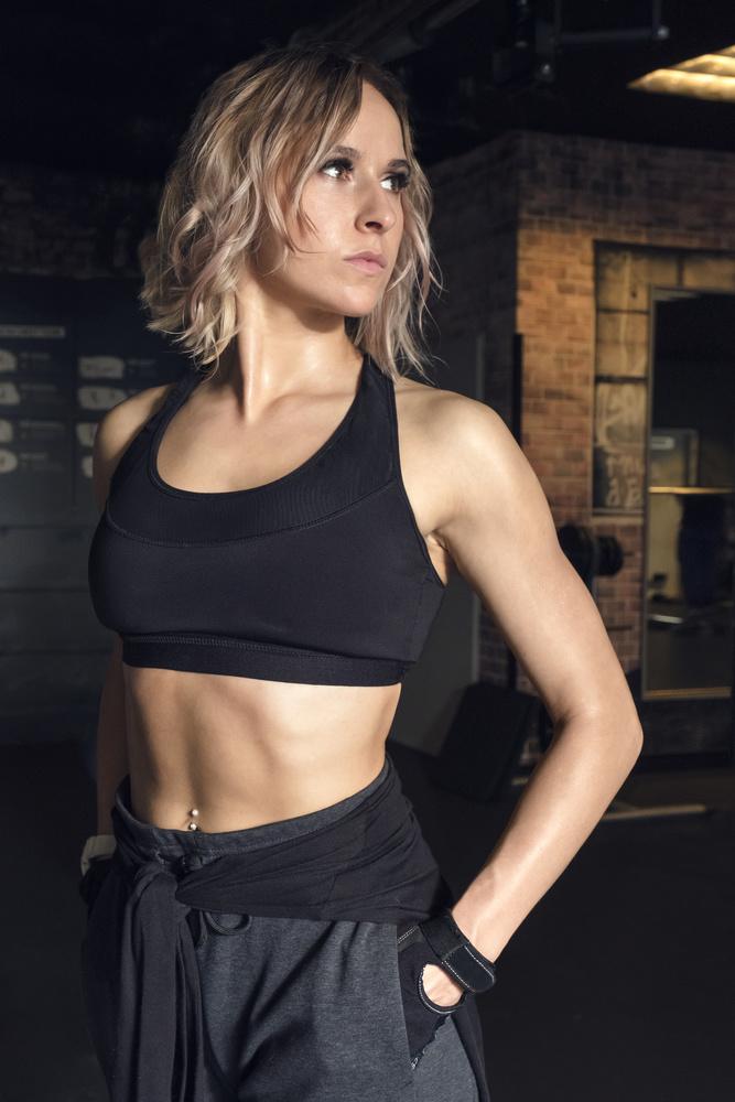 Fitness shoot with Paulina by Matthias Dengler