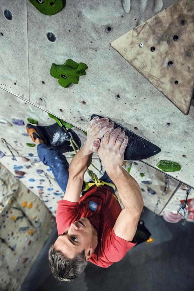 Wall climbing. by Matthias Dengler