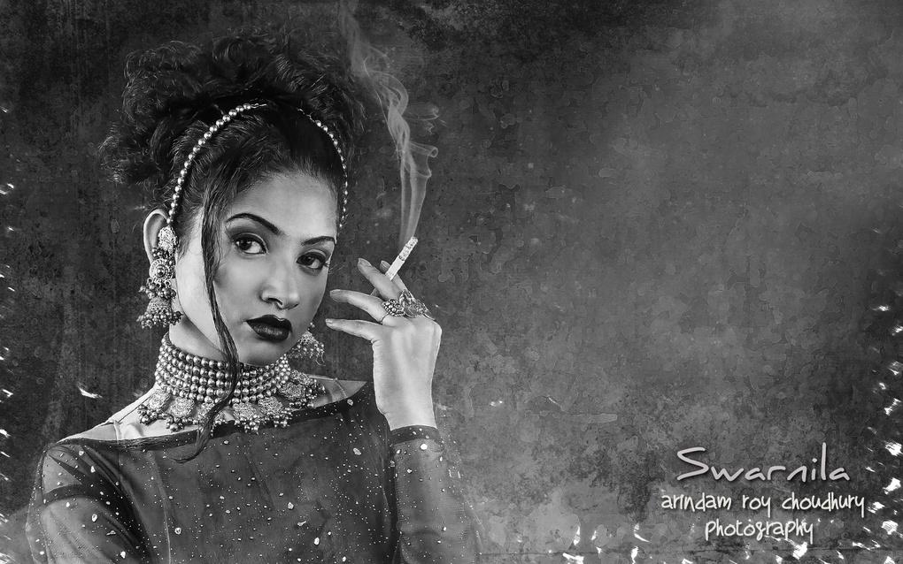 A smoker's love story. by Arindam Roy Choudhury