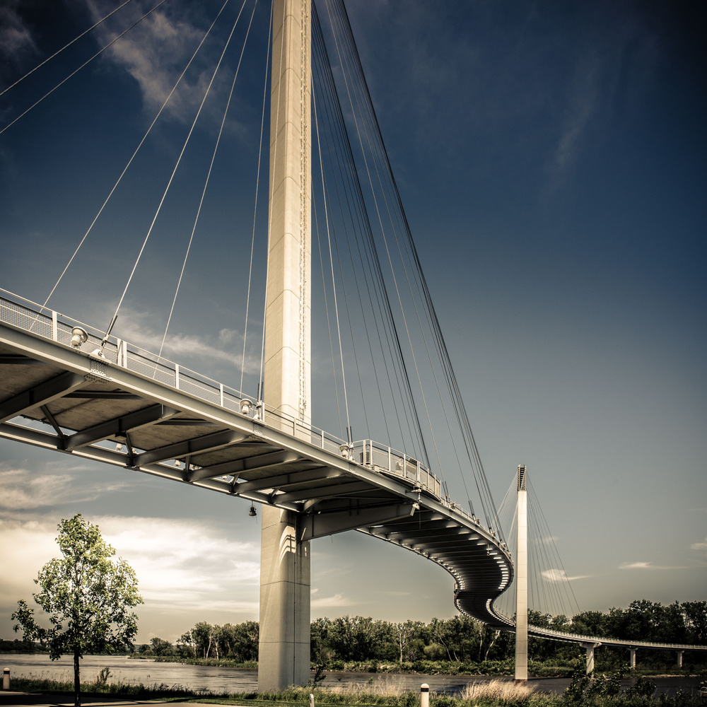 John Kerry Pedestrian Bridge by Mark Peavy