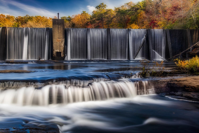 DeSoto Falls by Mark Peavy