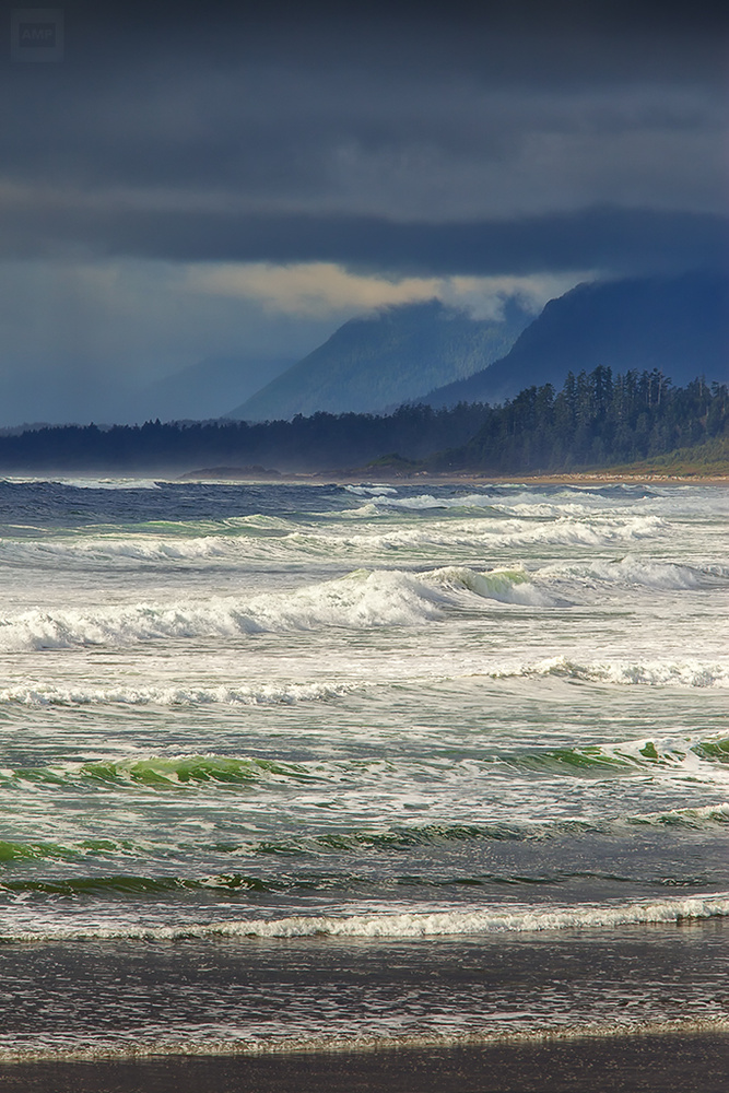 About a Beach - Vancouver Island, British Columbia by Alan McCord