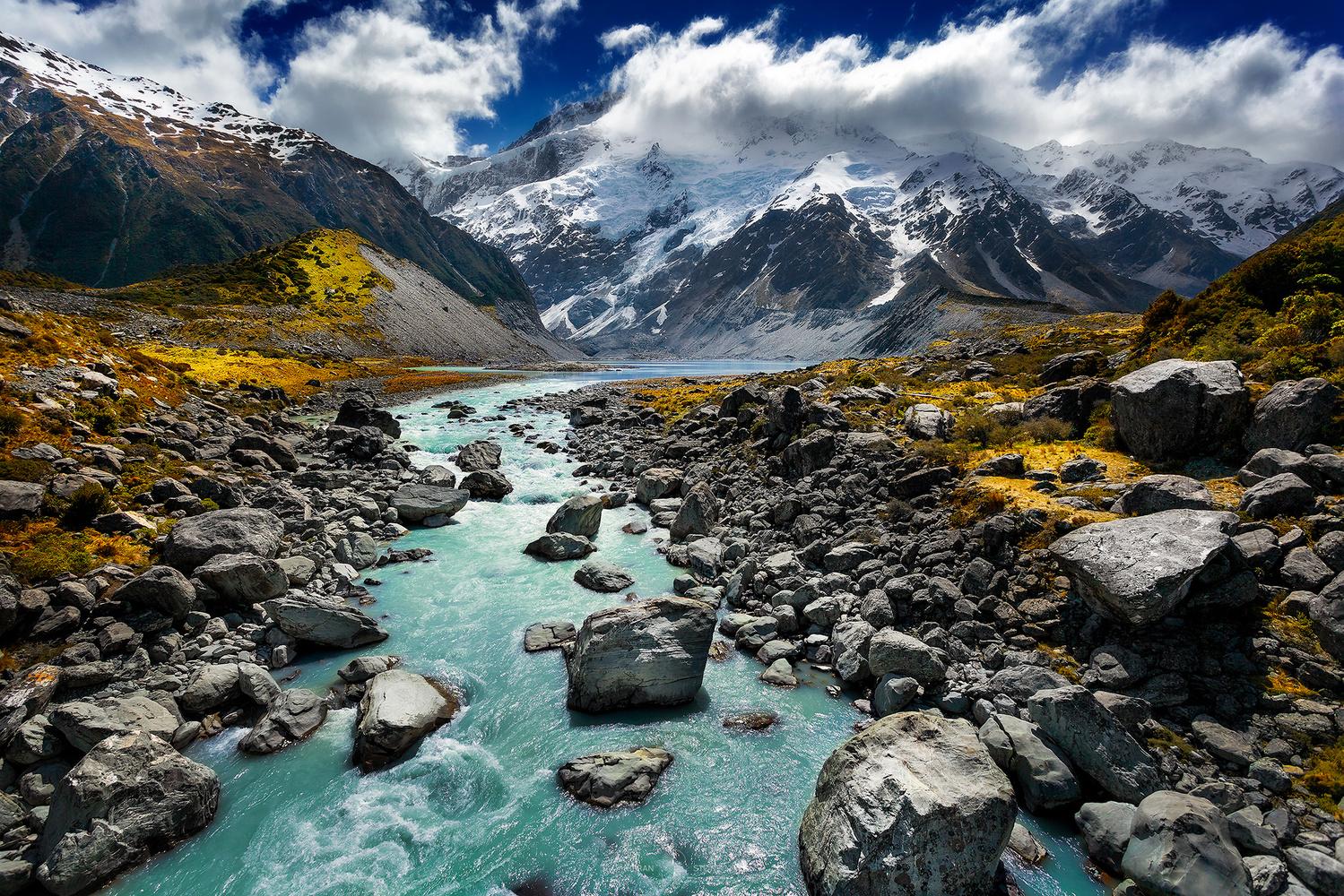 Mueller River by Kieran Stone