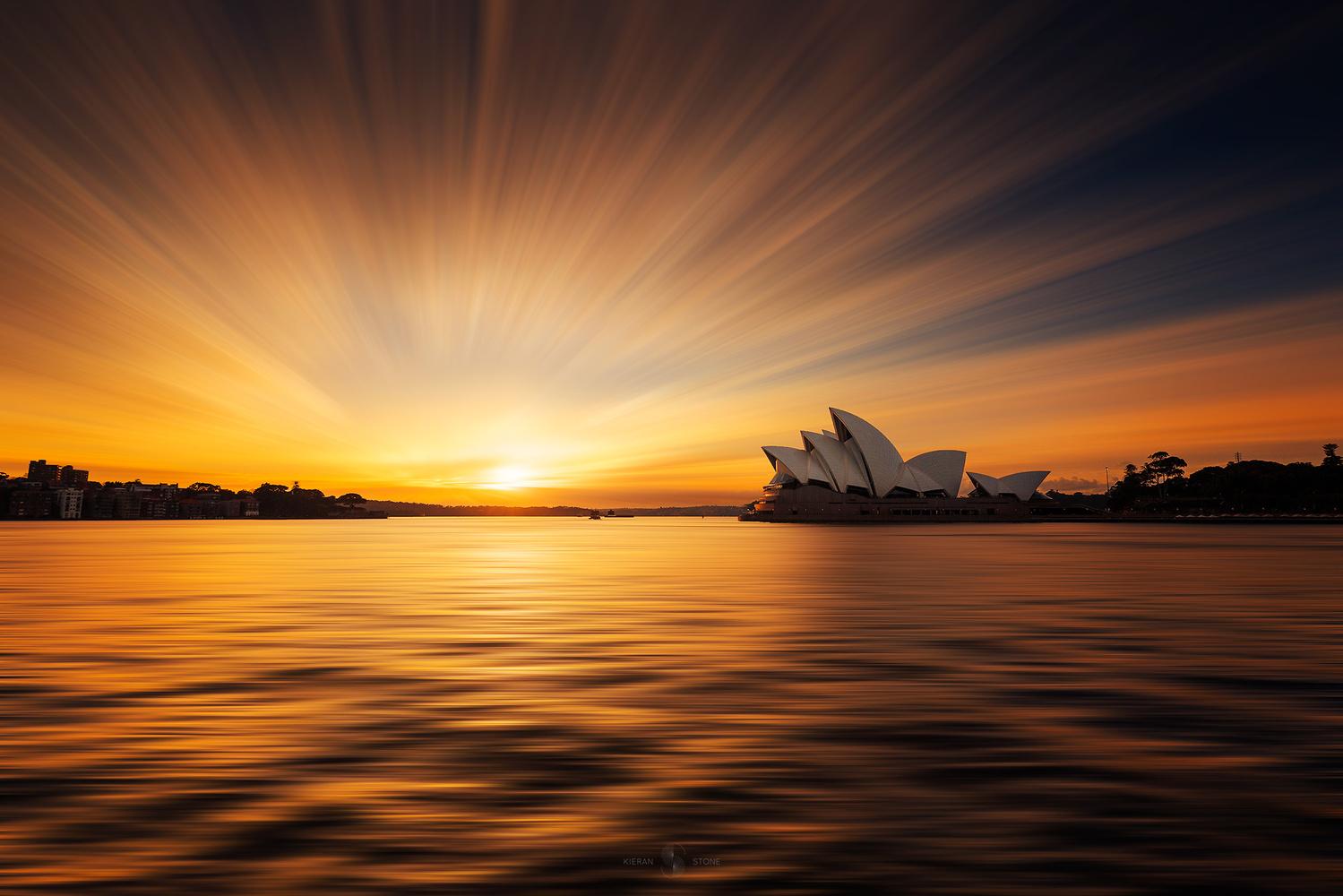 Sydney Sunrise by Kieran Stone