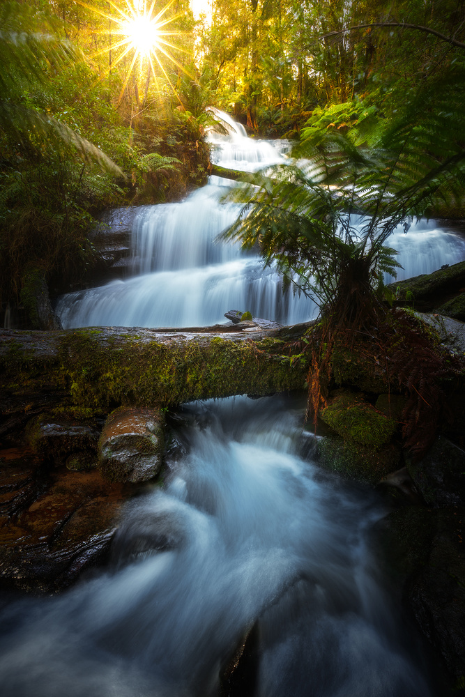 Triplet Falls by Kieran Stone