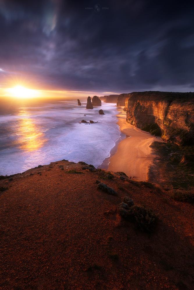 12 Apostles Sunset by Kieran Stone