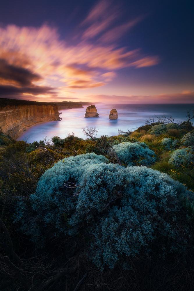 Sunrise at 12 Apostles by Kieran Stone