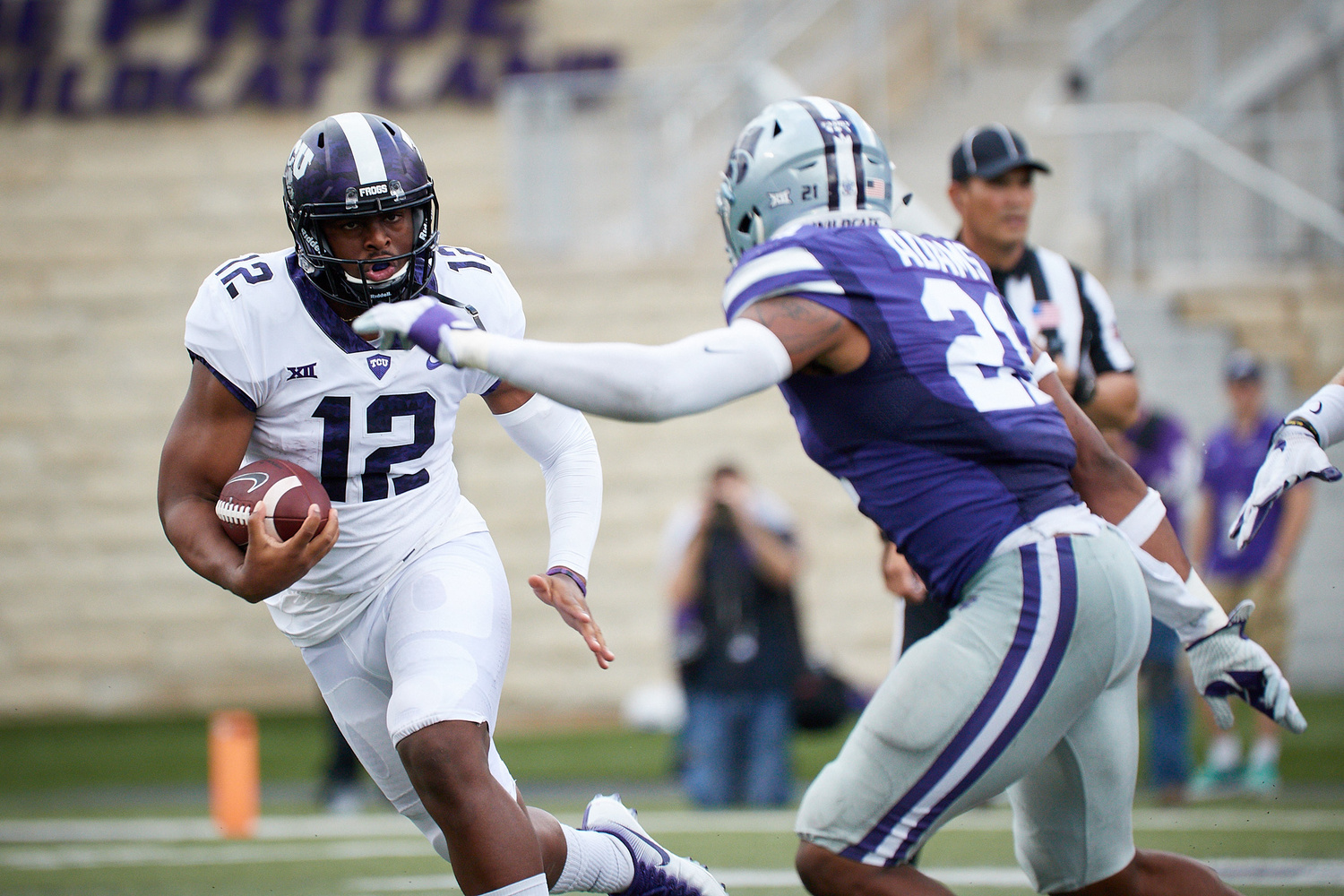 KSU/TCU Football by Kaden Classen