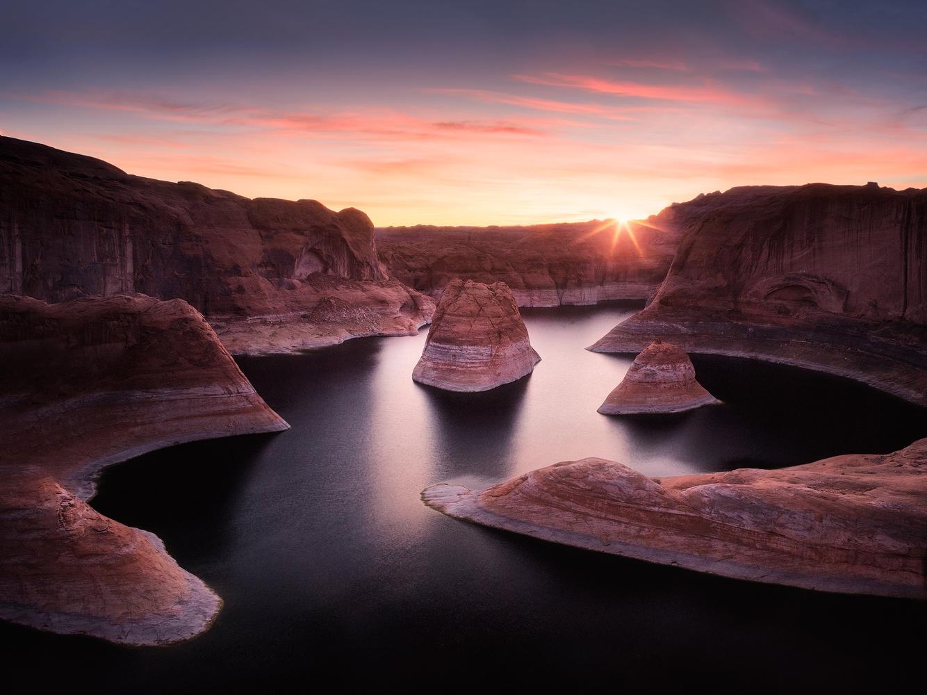 Reflection Canyon by Oleksandr Mokrohuz