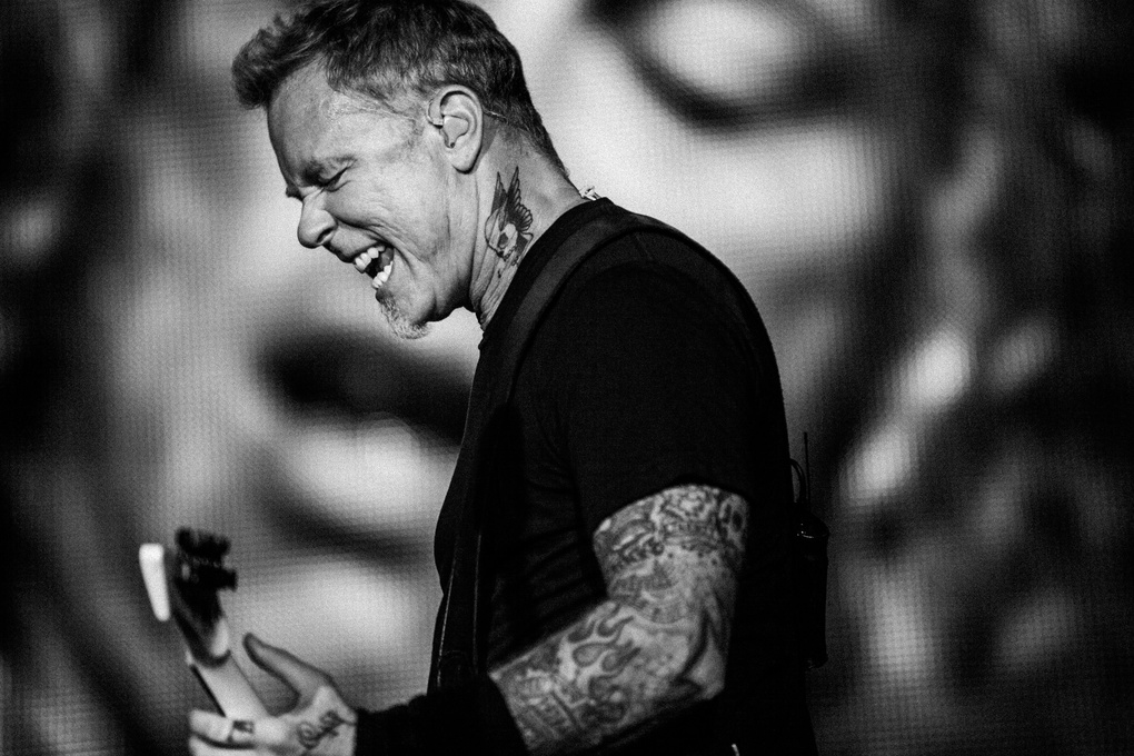 James Hetfield from Metallica in Kuala Lumpur by Paulius Staniunas