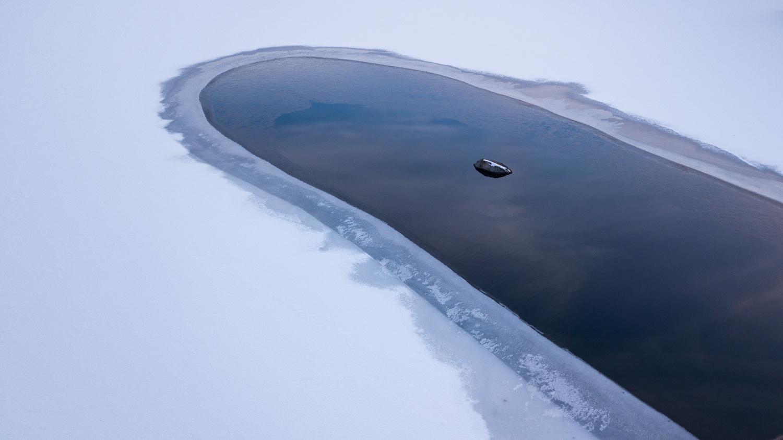 Lake Chocorua by Joe Klementovich
