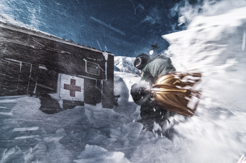 First Aid Cache by Joe Klementovich
