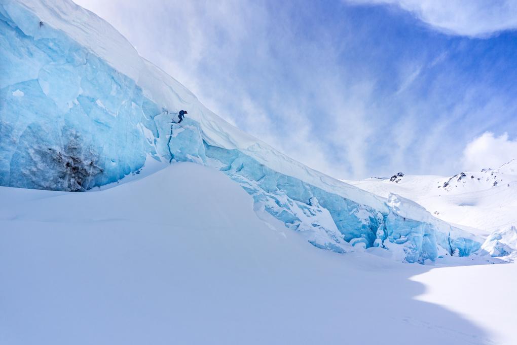 Decker Glacier, Whistler by Petter Schive